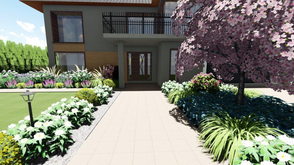 projektowanie ogrodów Niemcz