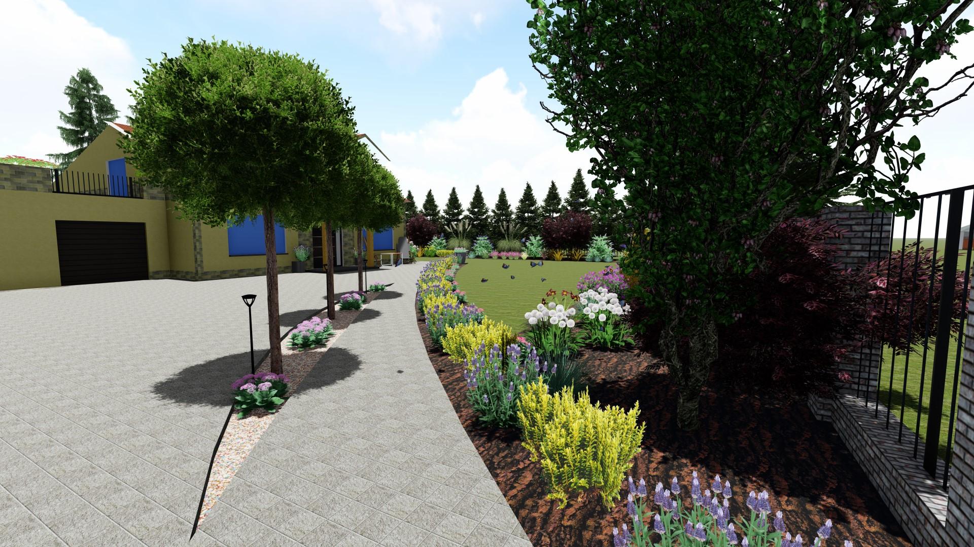 Projekt ogrodu szubin
