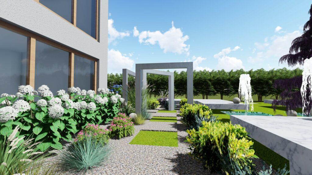 Projekt ogrodu w Warszawie Architekt Bydgoszcz