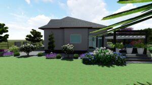 Projekt ogrodu Czemlewo
