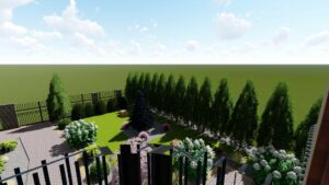 Projekt ogrodu Zielonka
