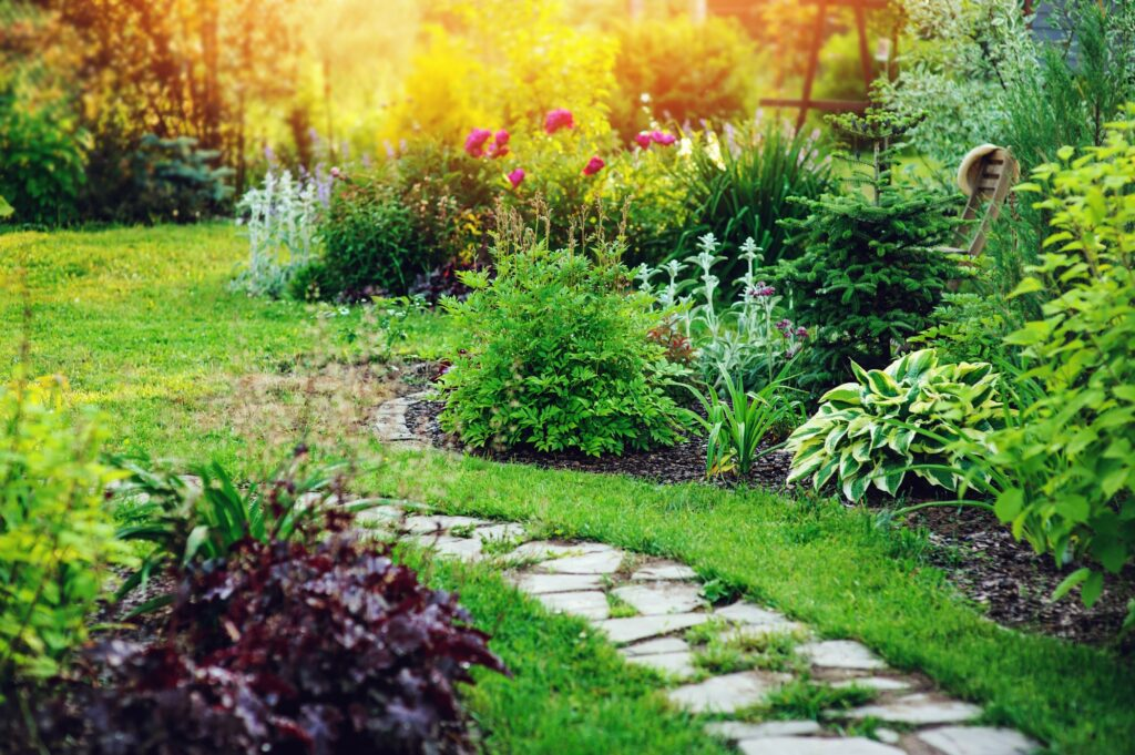 ogród swobodny