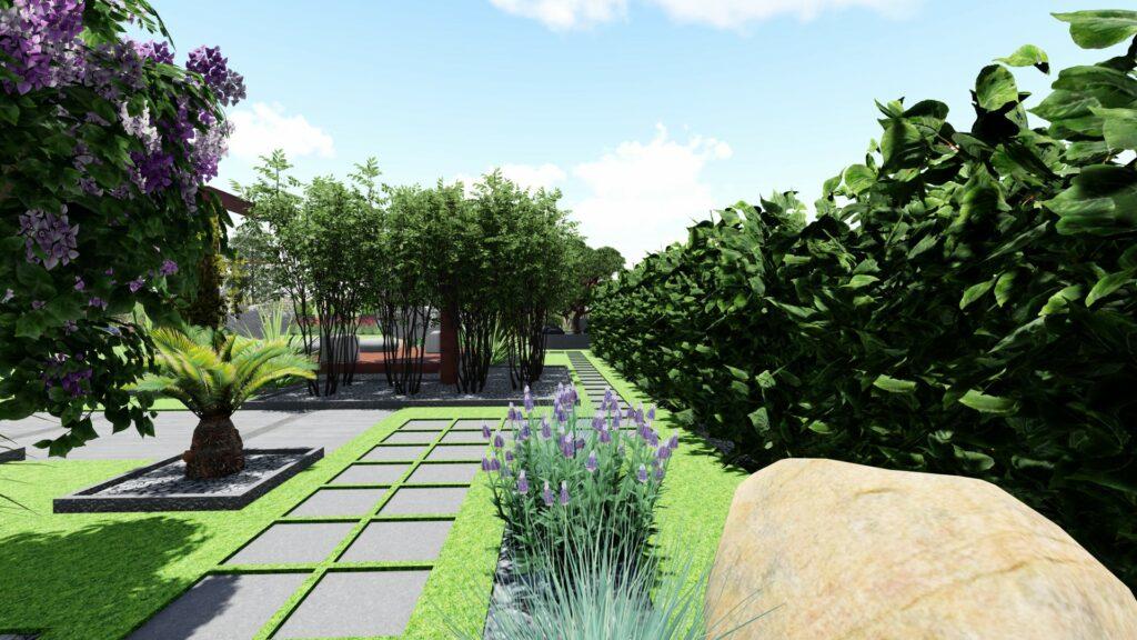 Projektowanie ogrodów w Parczewie