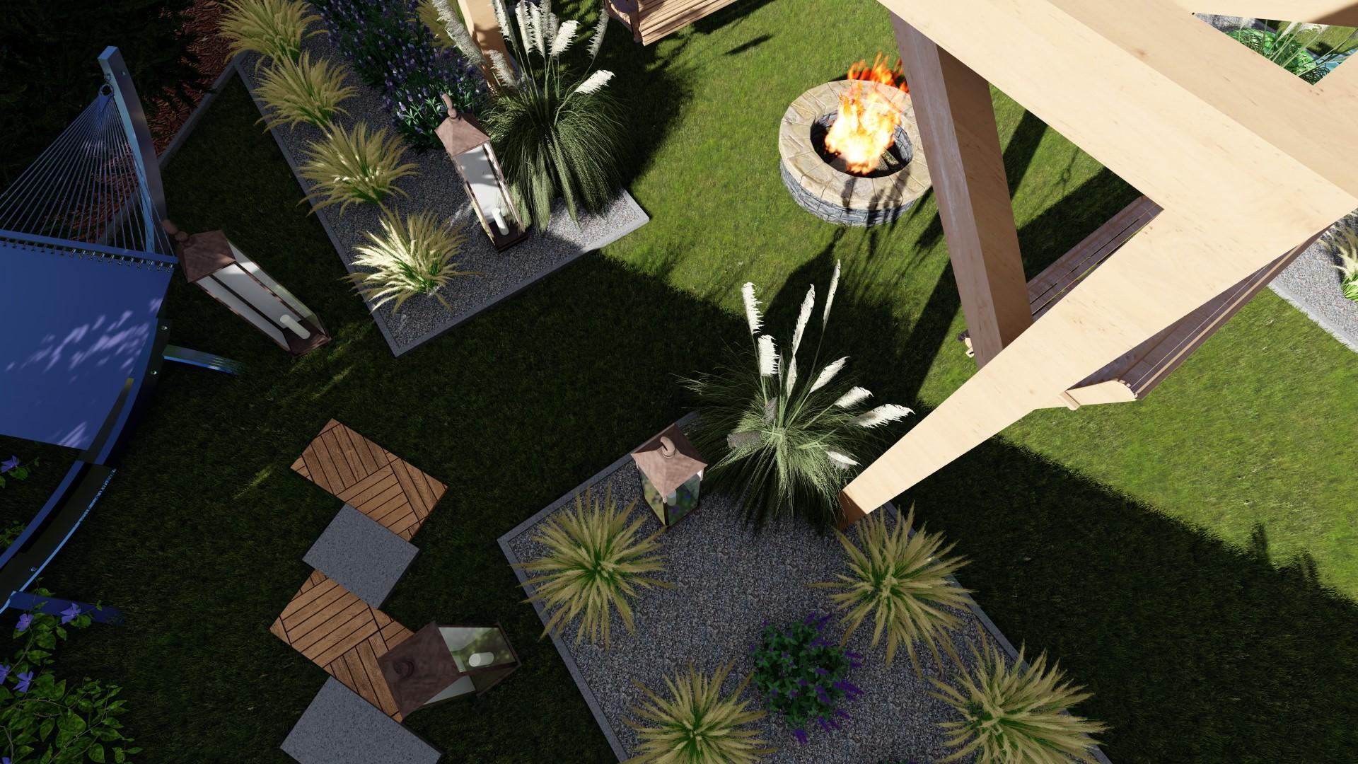 Projekt ogrodu Barcin