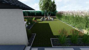 Projekt ogrodu Milanówek