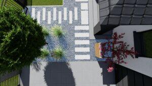 Projekt ogrodu Łysomice