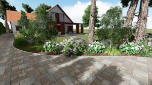 Projekt ogrodu Oleszno