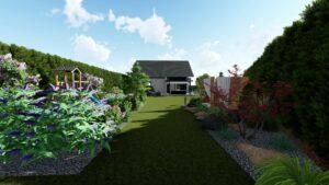 Projekt ogrodu wolice barcin