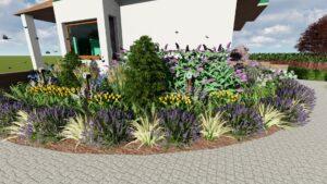 Projekt ogrodu Zakalinki